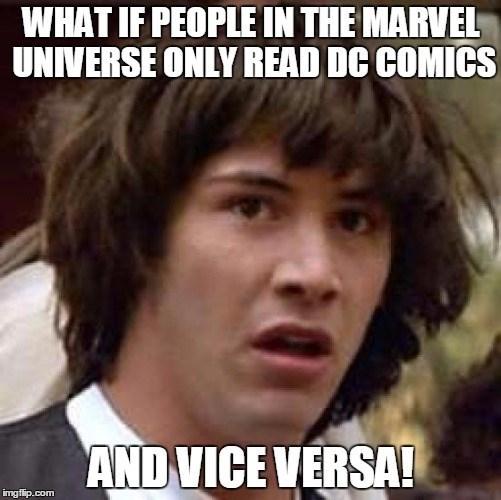 marvel,DC,Memes,superheroes