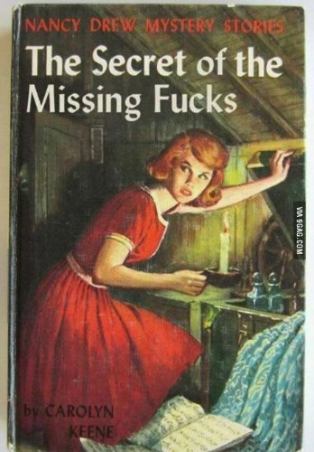 Nobody seemed to give them any more, so what had happened to them all? Luckily, Nancy Drew is on the case...