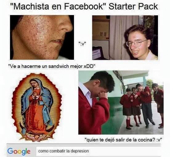 machista en facebook
