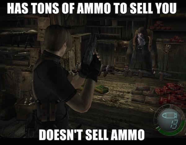 ammo,resident evil