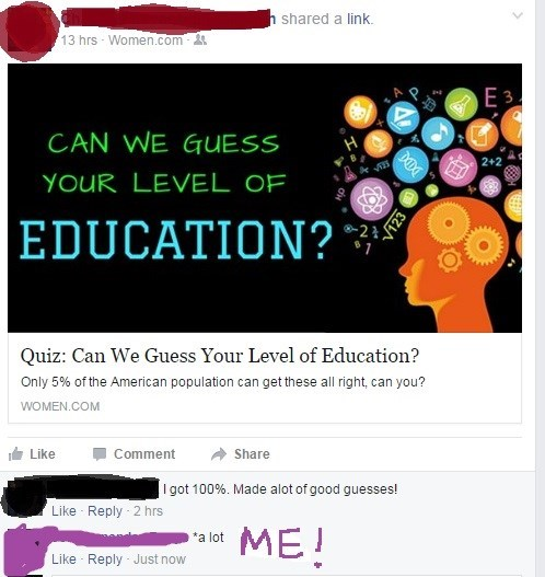 FAIL facebook spelling