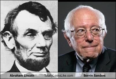 Abraham Lincoln Totally Looks Like Bernie Sanders