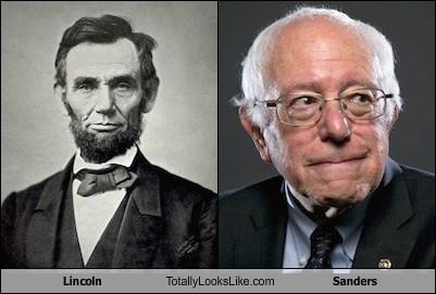 Lincoln Totally Looks Like Sanders