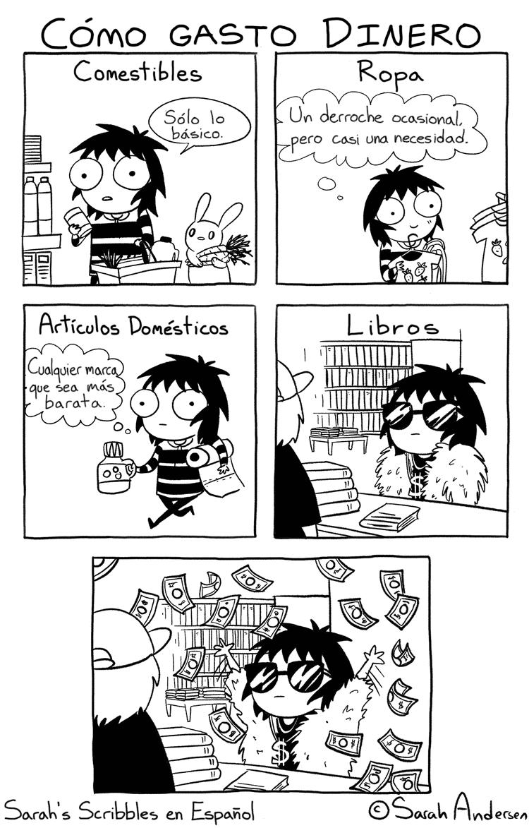 gastar el dinero
