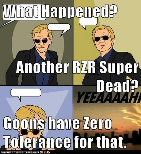 What Happened Another Rzr Super Dead Goons Have Zero Tolerance For