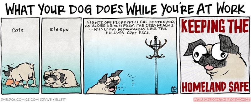 web comics dogs Dogs, So Brave