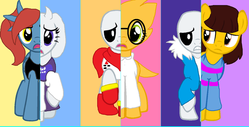 ponified undertale - 8747967232