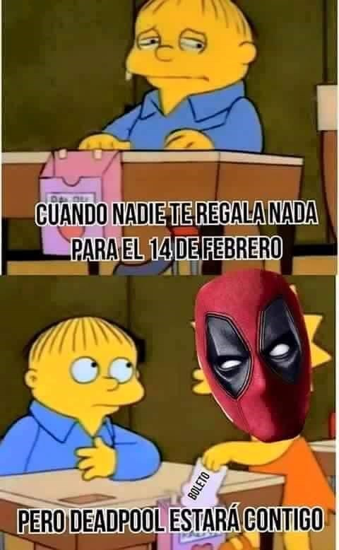deadpool estara contigo