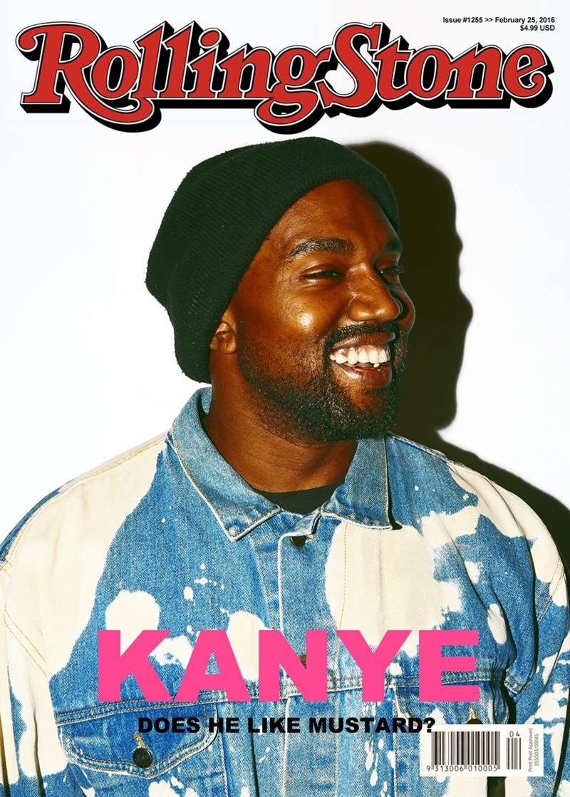 kanye west twitter This Is Not Really a Rolling Stone Cover. Sadly, We May Never Know Kanye's Feelings on Mustard