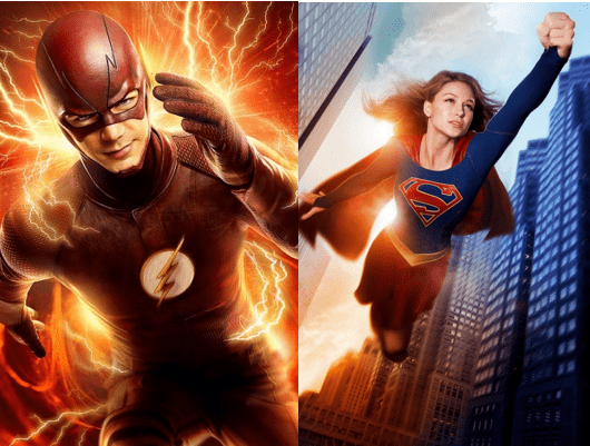 tv supergirl flash The Flash Will Be Crossing Over From the CW to CBS to Team Up With Super Girl