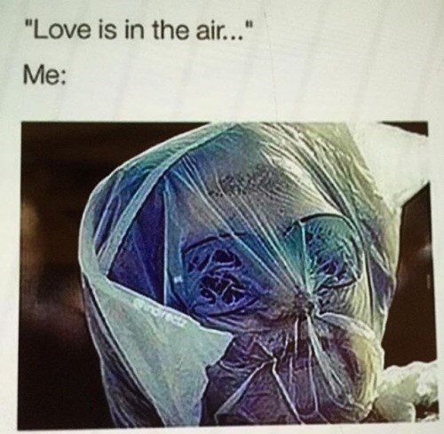 nope,plastic bag,love