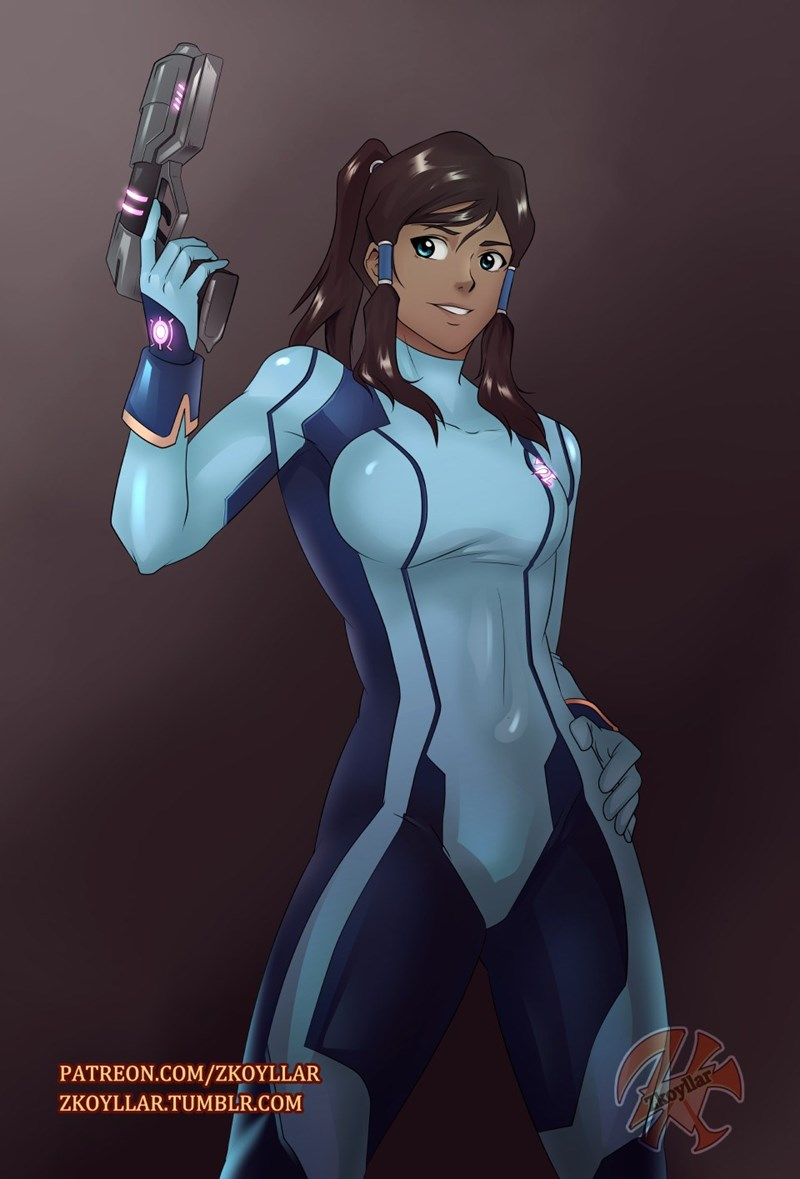 Metroid Fan Art legend of korra samus aran - 8748140544