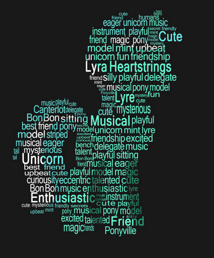 lyra heartstrings,typography