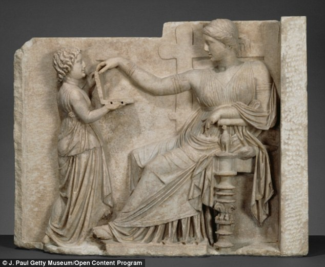 art time travel conspiracy Some Say This Ancient Greek Sculpture is Proof of Time Travel