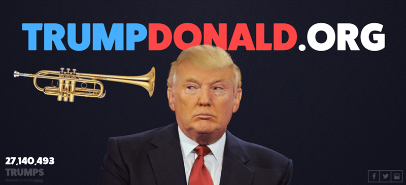 donald trump hair This Website Will Help You Release Your Frustration on Donald Trump's Combover