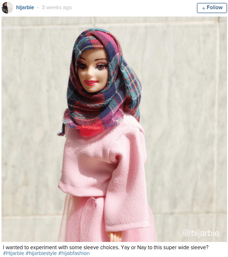 barbie realistic fashion Hijarbie on Instagram Makes the Case for Glamorous, Modest Doll Fashion