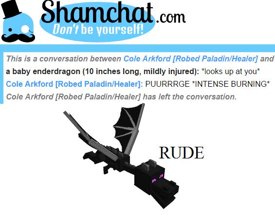 minecraft shamchat - 8748504832