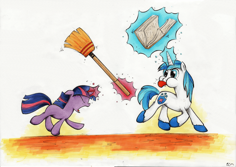sibling rivalry,twilight sparkle,shining armor