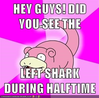 video games geek super bowl halftime slowpoke - 8748934400