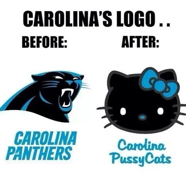 sports,super bowl,hello kitty,football,carolina panthers