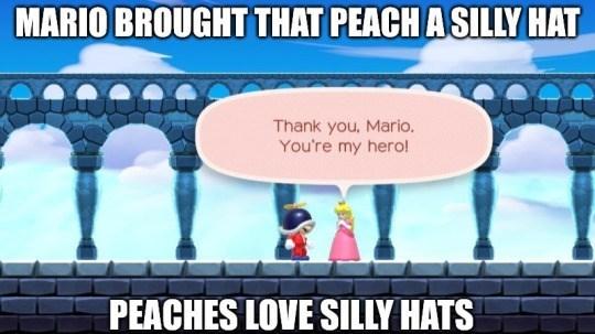 princess peach Super Mario bros - 8749021184