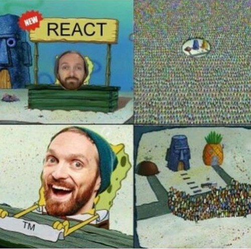 fine bros SpongeBob SquarePants react - 8749035008