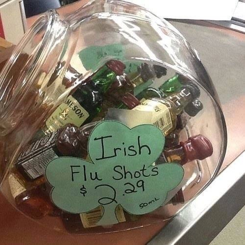 irish flu shots whiskey