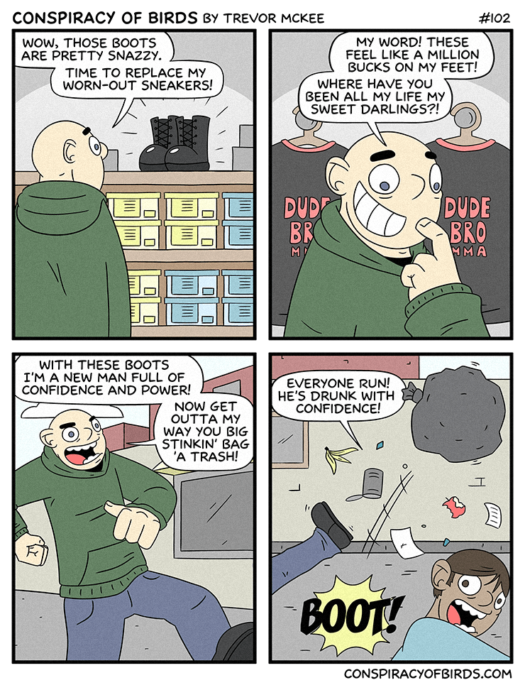 consumerism confidence new shoes web comics - 8749226240