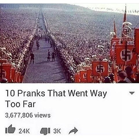 """It Was a Prank, Bro"" -Hitler"