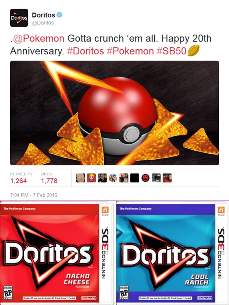 super bowl doritos - 8749370112
