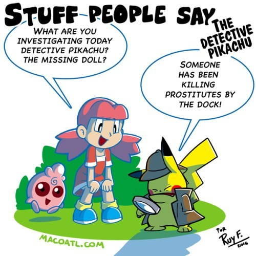 pokemon memes detective pikachu dark investigations