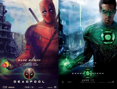 deadpool ryan reynolds There's Something Familiar About This Poster