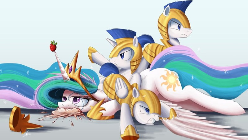 princess celestia royal guard - 8749641728