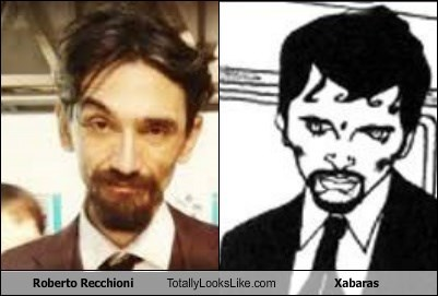 Roberto Recchioni Totally Looks Like Xabaras