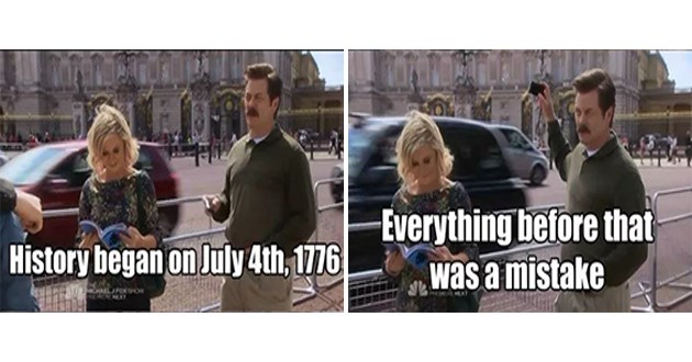 ron swanson 4th of july quotes