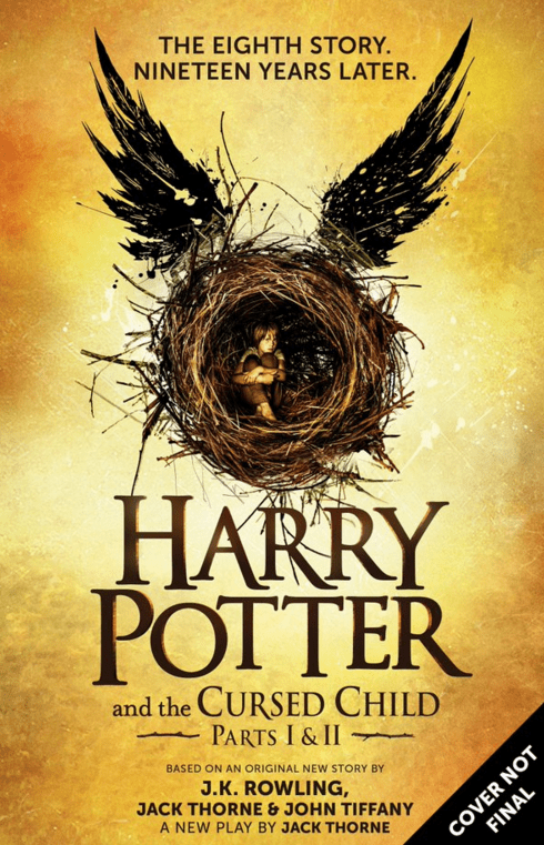 harry potter jk rowling Harry Potter and the Cursed Child Will Be Published as an E-Book for Everyone Who Can't See the Play