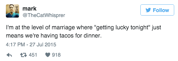 marriage,sexy times,tweet,dating
