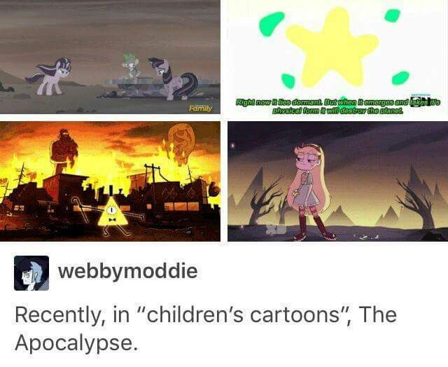 apocalypse,cartoons