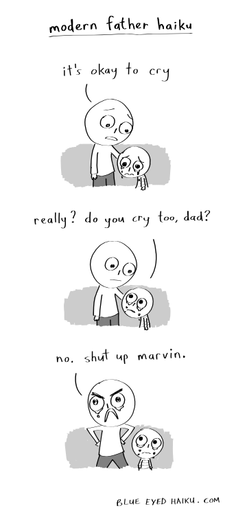 web comics dads There's Dust in My Eye