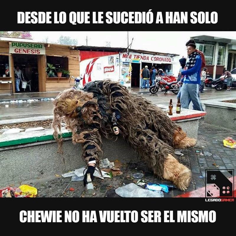 pobre chewie
