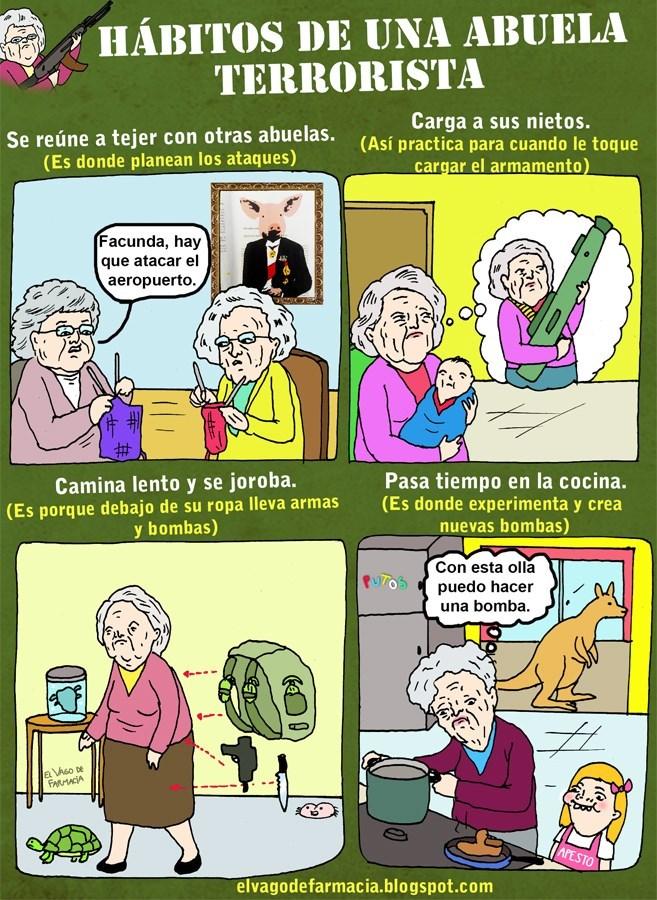 abuela terrorista