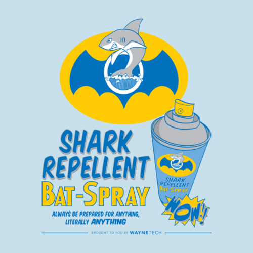 batman shark repellant For Those Pesky Fish That Want to Bite