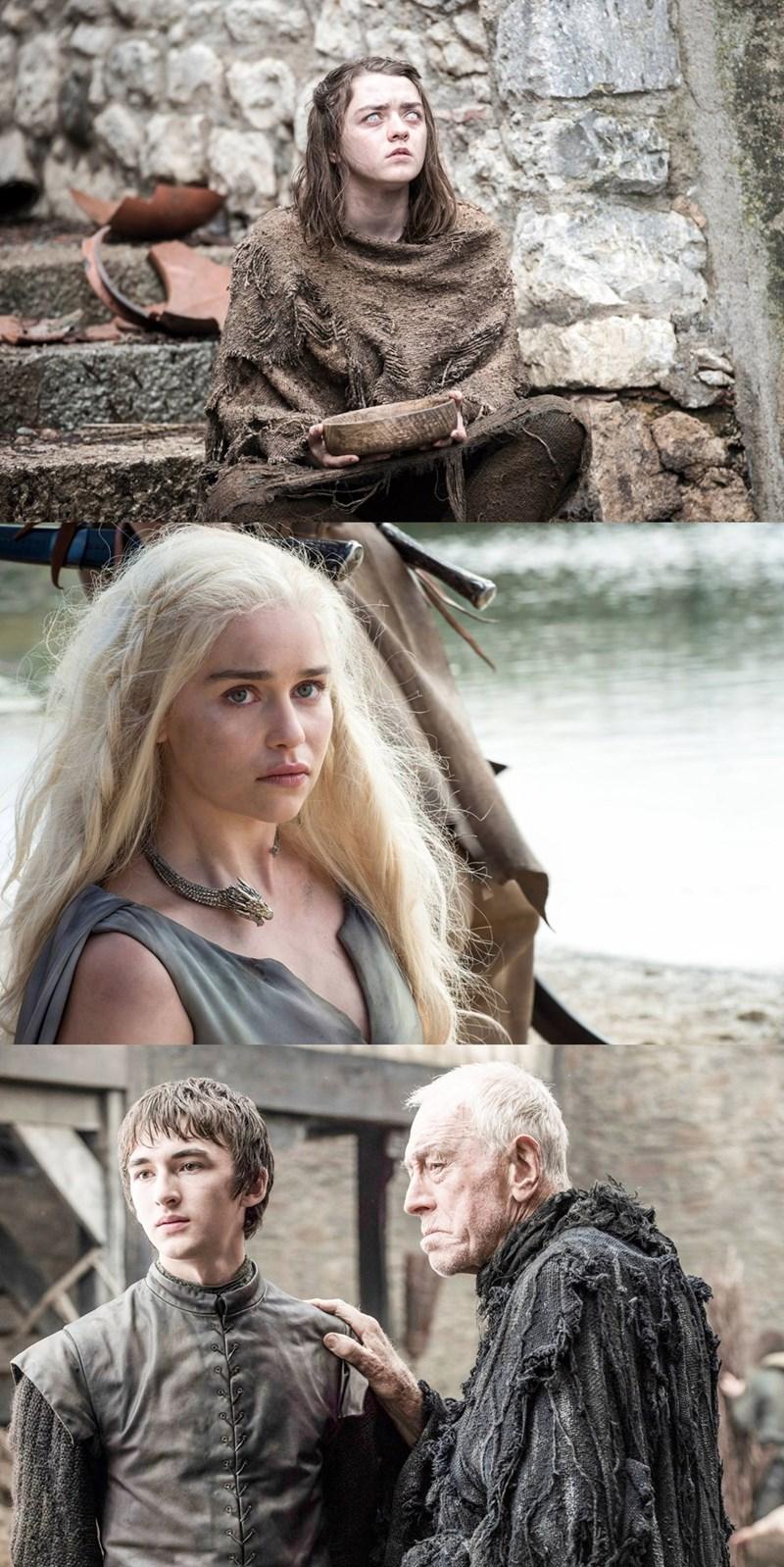 game of thrones season 6 photos sansa may be pregnant