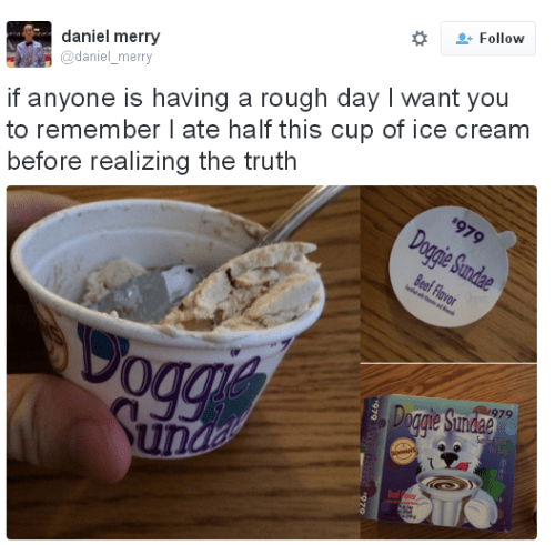 funny memes guy ate doggy ice cream