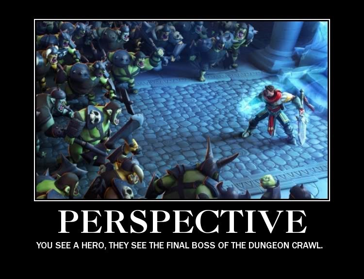 video game memes perspective