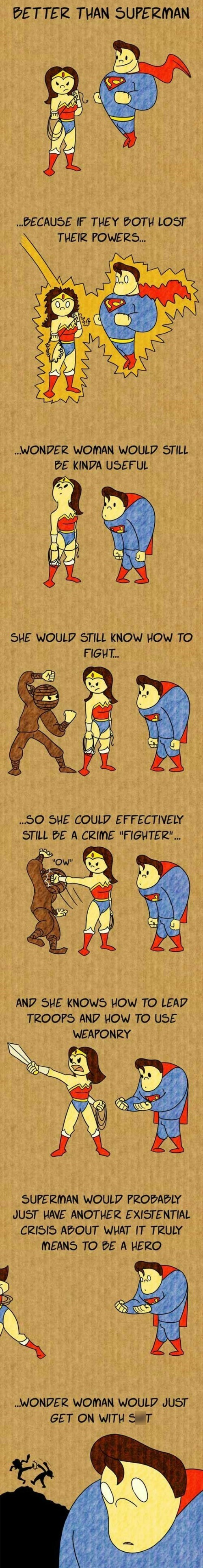 wonder woman superman web comics - 8750723584