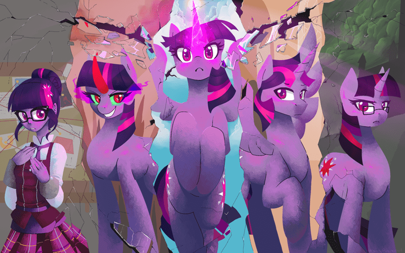 equestria girls twilight sparkle dusk shine - 8750763520