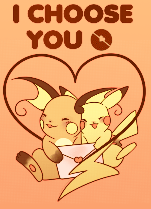 pokemon memes i choose you valentine