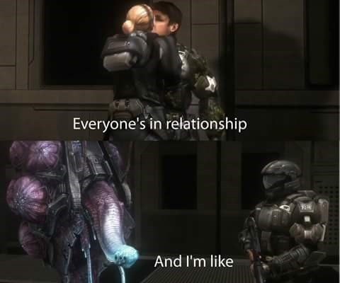 video game memes everyones in a relationship