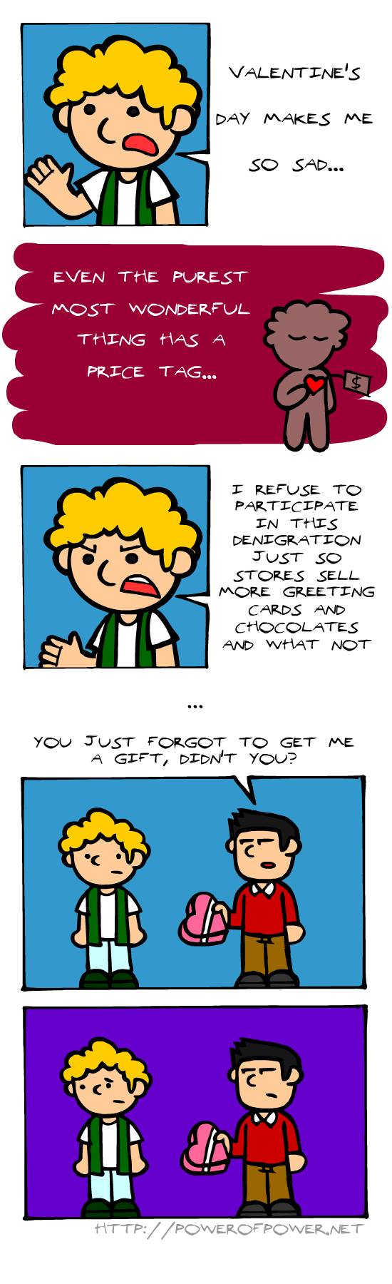 commercialism,web comics,Valentines day
